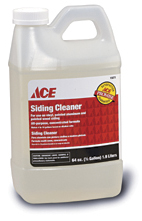 vinyl siding cleaner ace siding cleaner 28989