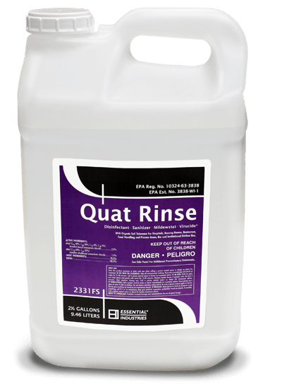 Quat Rinse Product Photo