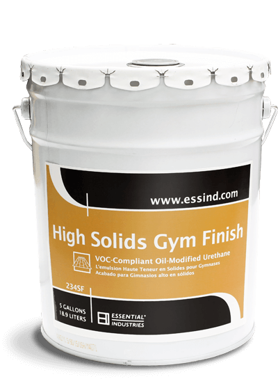 High Solids Gym Finish Product Photo