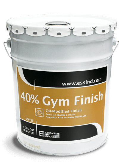 40% Gym Finish Product Photo