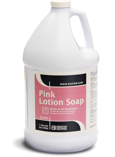 Pink Lotion Soap Product Photo
