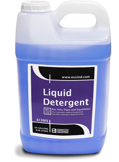 Liquid Detergent Product Photo