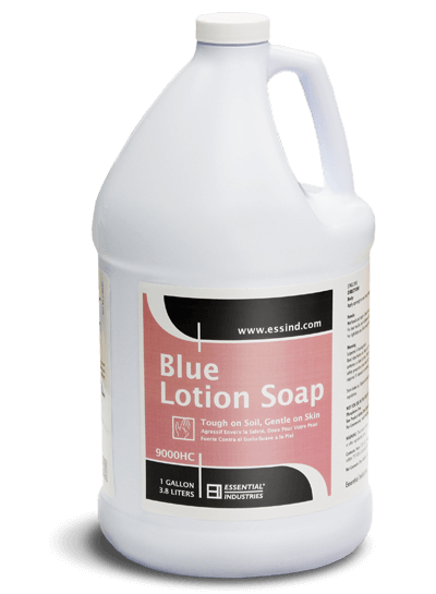 Blue Lotion Soap Product Photo
