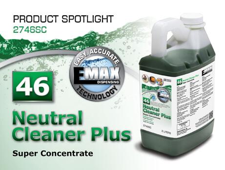 Spotlight on Neutral Cleaner Plus