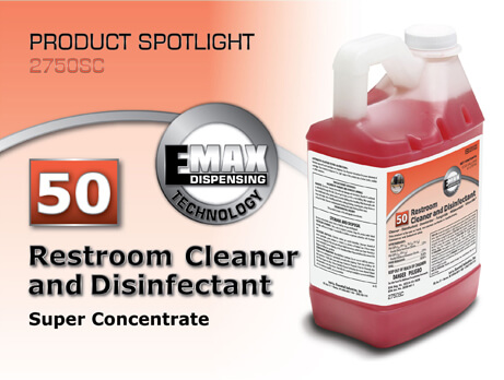 Spotlight on Restroom Cleaner and Disinfectant