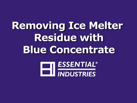 Blue Concentrate Removing Ice Melter