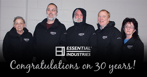 Congratulations to our Essential Industries Employees that Worked here over 30 years