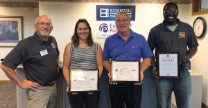 Essential being Honored with awards