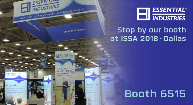 Stop by our booth at ISSA 2018 Dallas Booth 6515