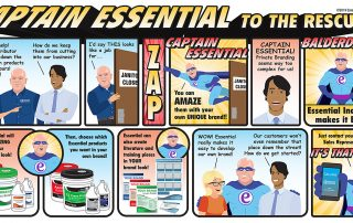 Captain Essential To the Rescue