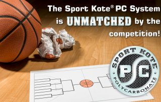 The Sport Kote PC System is UNMATCHED by the competition