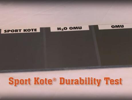 Sport Kote Durability Test