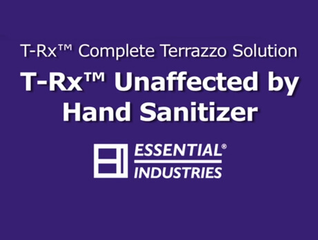 T-Rx Unaffected by Hand Sanitizer