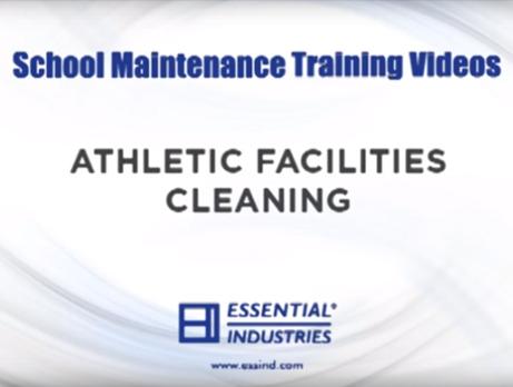 School Maintenance Training Videos: Athletic Facilities Cleaning