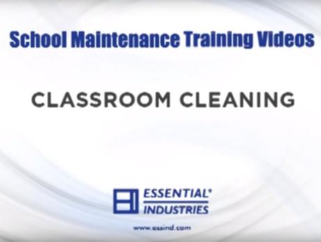 School Maintenance Training Videos: Classroom Cleaning