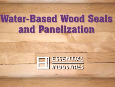 Water Based Wood Seals and Panelization