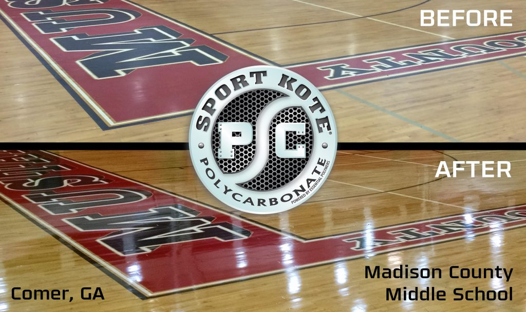 Before and After of Madison County with Sport Kote PC