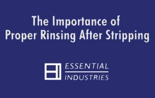 The Importance of Proper Rinsing After Stripping