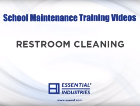 School Maintenance Training Videos: Restroom Cleaning