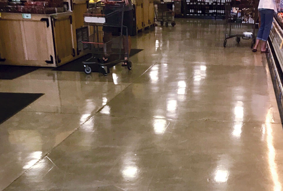 Pantheon on Grocery Floor