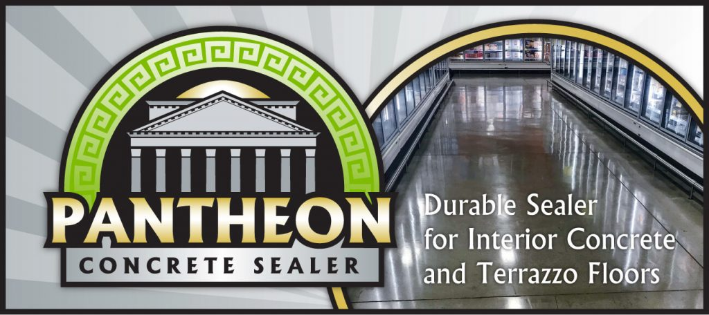 Pantheon Concrete Sealer: Durable Sealer for Interior Concrete and Terrazzo Floors