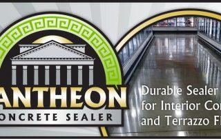 Pantheon Concrete Sealer: Durable Sealer for Interior Concrete and Terrazzo Floors