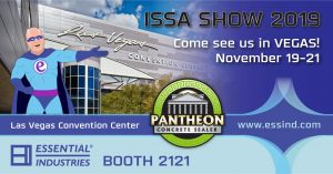 ISSA Show 2019 Come see us in Vegas November 19-21 Booth 2121