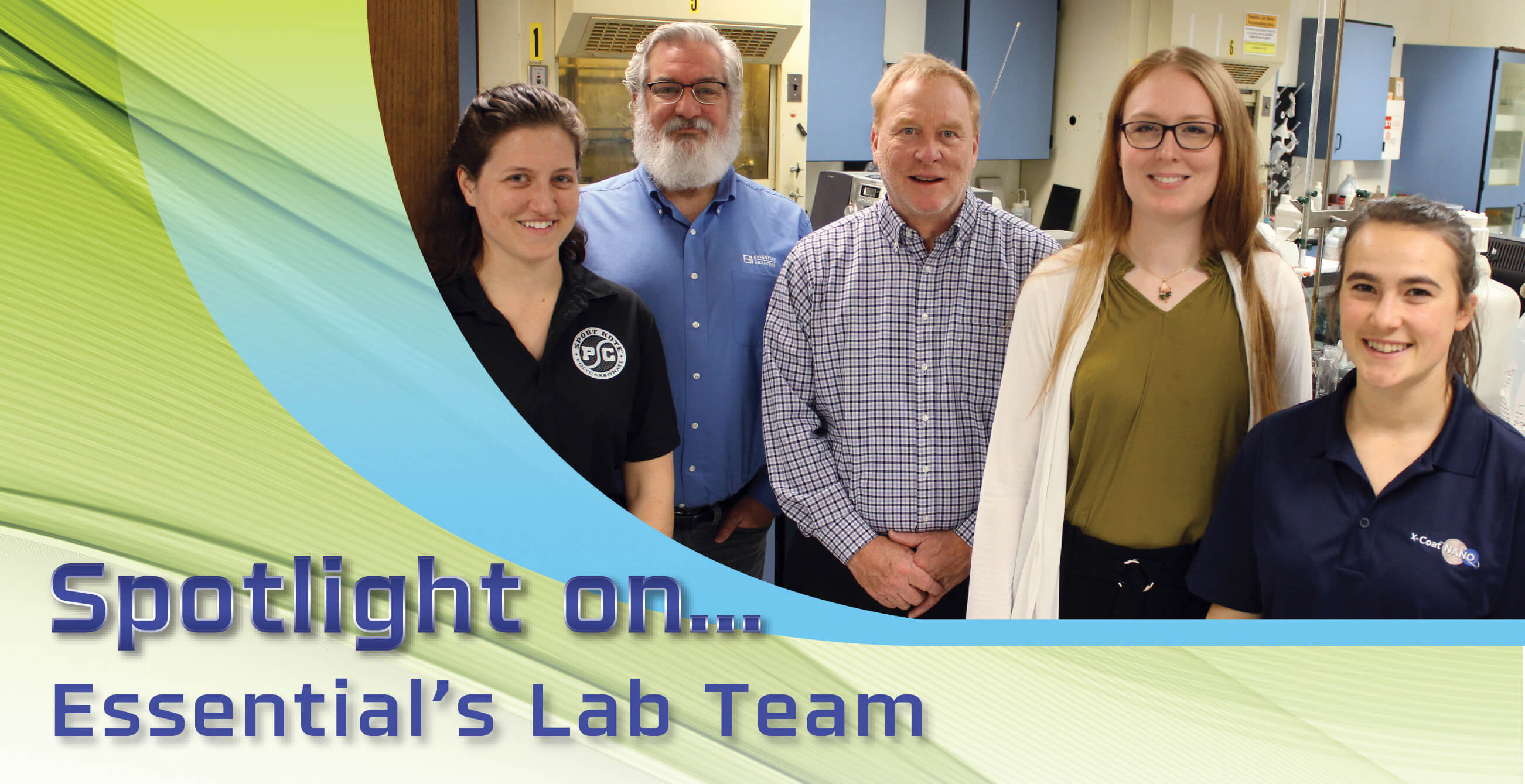 Spotlight on Essential Lab Team