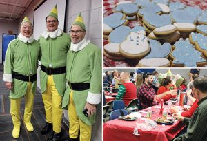 Elves, Cookies and Lunch at Essentials Holiday Party