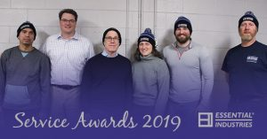 Essential Industries Service Awards for 2019