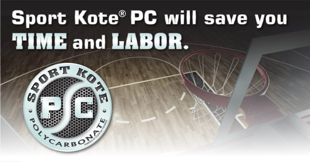Sport Kote PC will save you time and labor