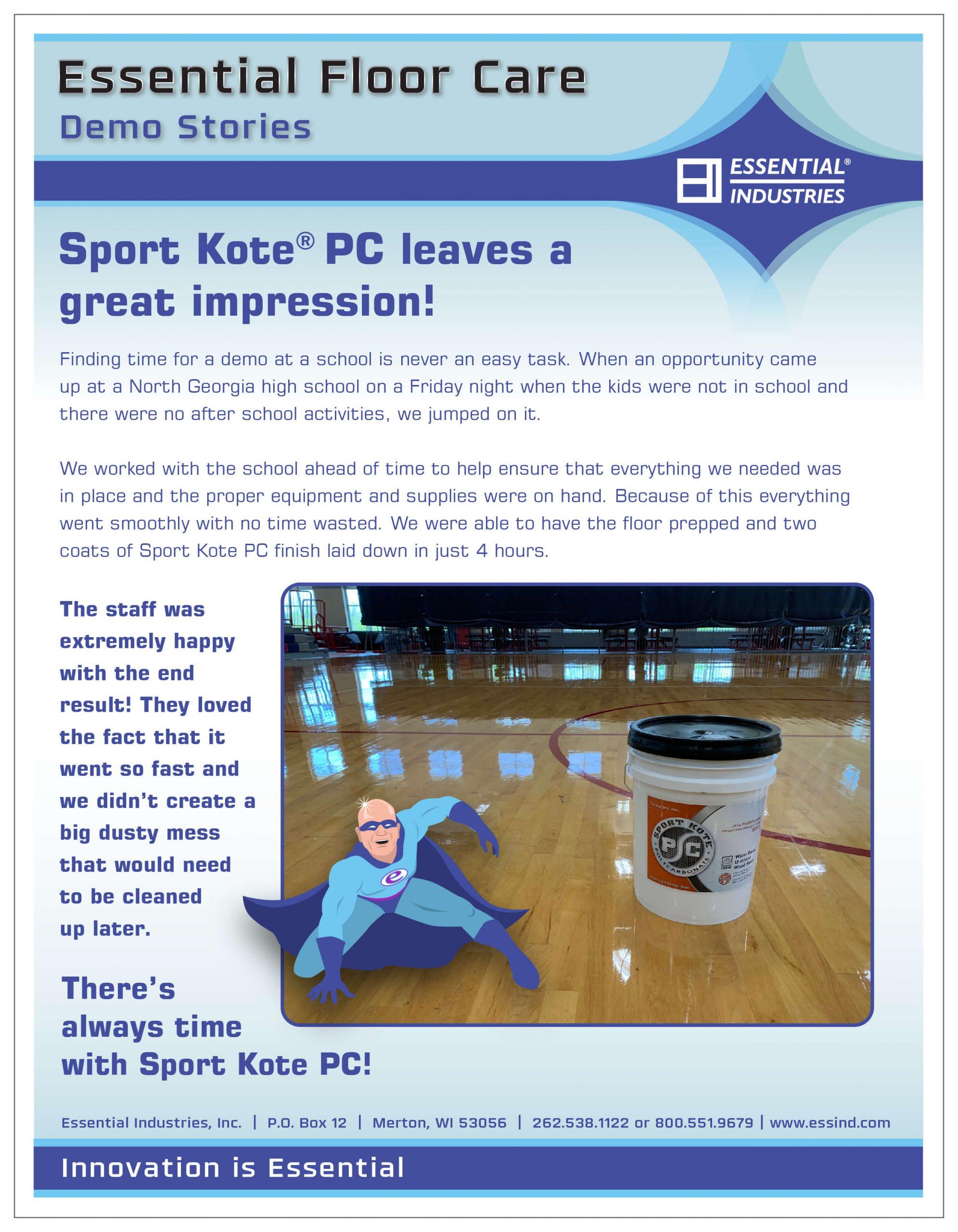 Sport Kote PC Demo Story
