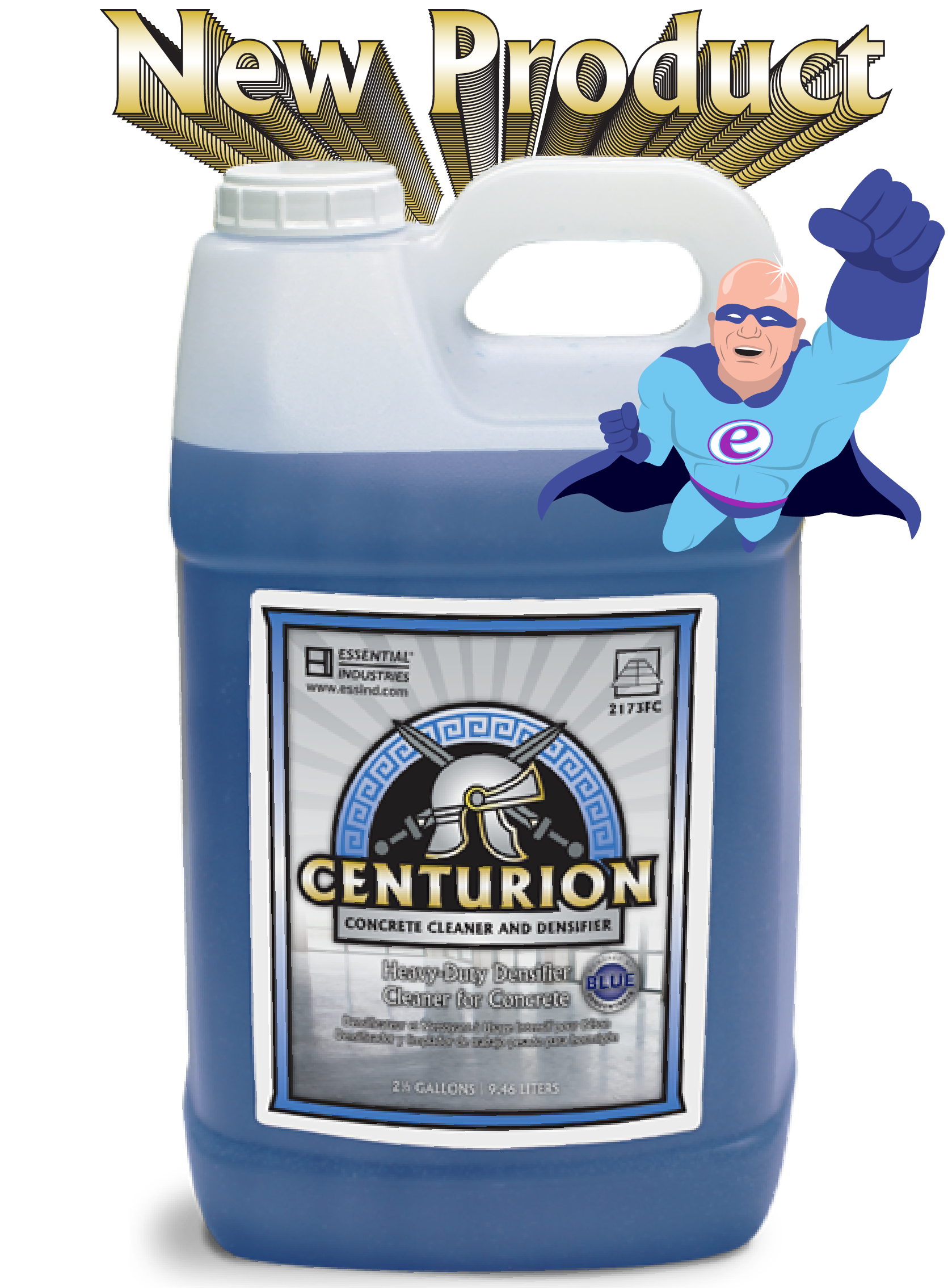 New Product Centurion Concrete Cleaner and Densifier