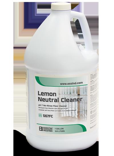Lemon Neutral Cleaner Product Photo