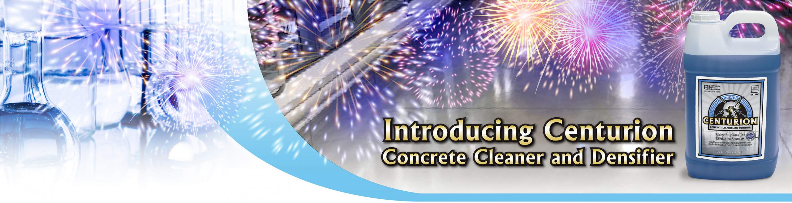 Introducing Centurion Concrete Cleaner and Densifier