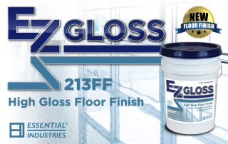 Introducing EZ Gloss High Gloss Floor Finish
