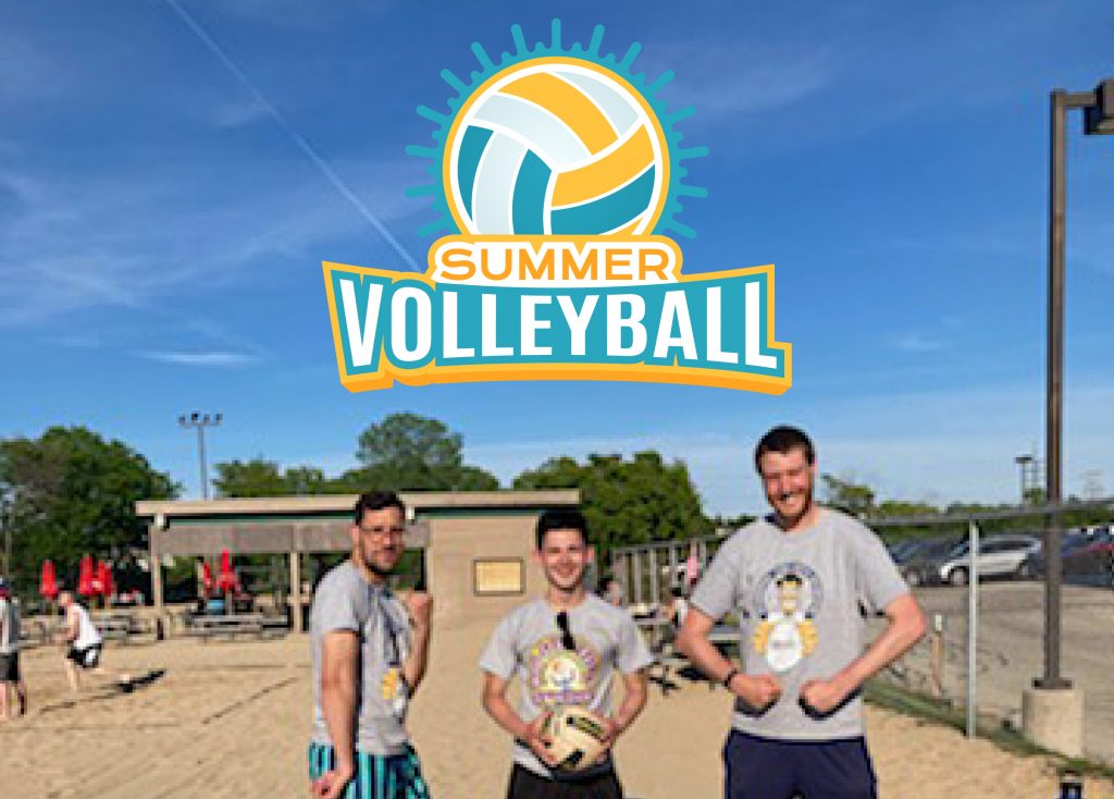 Summertime and volleyball. ☀️🏐 Essential Industries is ready to take on the competition!